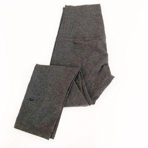 Lululemon high rise gray cotton leggings